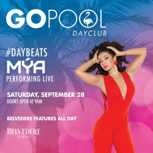 #DAYBEATS FEATURING MYA - event flyer