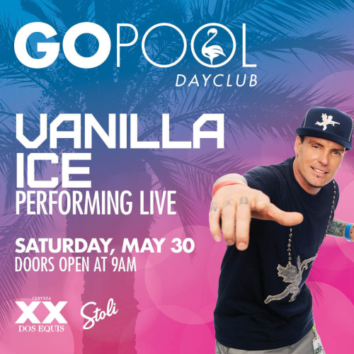VANILLA ICE LIVE AT GO POOL - GO Pool