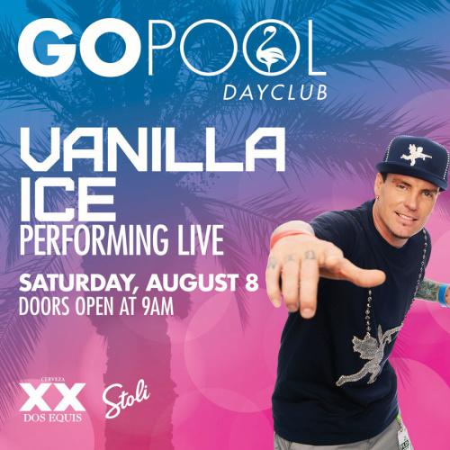 VANILLA ICE LIVE PERFORMANCE - GO Pool
