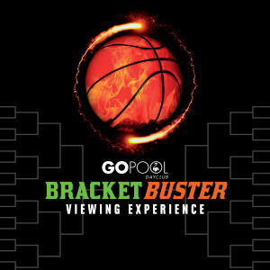 BRACKET BUSTER VIEWING PARTY - event flyer