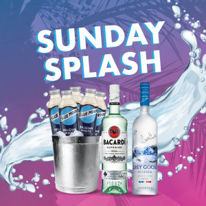 SPLASH SUNDAY - event flyer