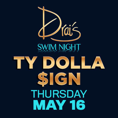 Ty Dolla $ign, Thursday, May 16th, 2019