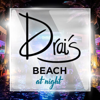 Drai's Beach at Night