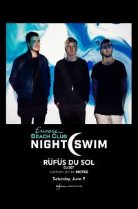 RÜFÜS DU SOL (DJ Set) with Support Set By Motez - Nightswim at EBC at Night