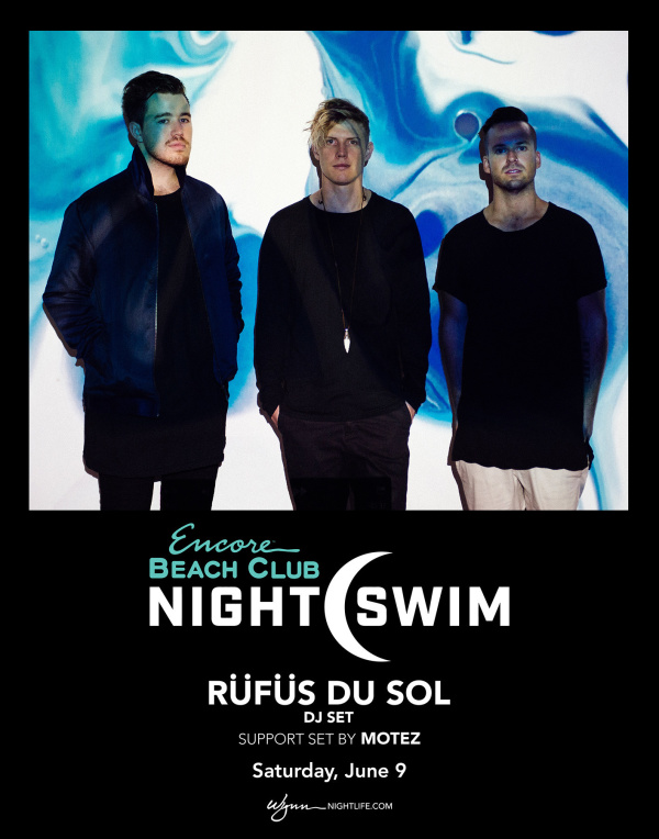 RÜFÜS DU SOL (DJ Set) with Support Set By Motez - Nightswim