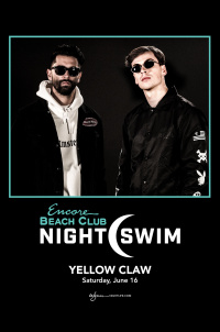 Yellow Claw - Nightswim at EBC at Night