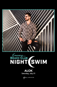 Alok - Nightswim at EBC at Night