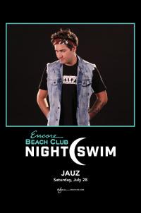 Jauz - Nightswim at EBC at Night