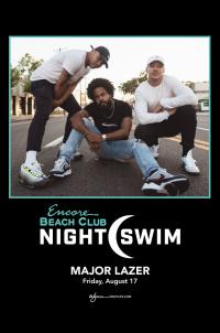 Major Lazer - Nightswim at EBC at Night
