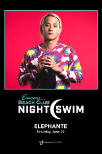 Elephante - Nightswim at EBC at Night