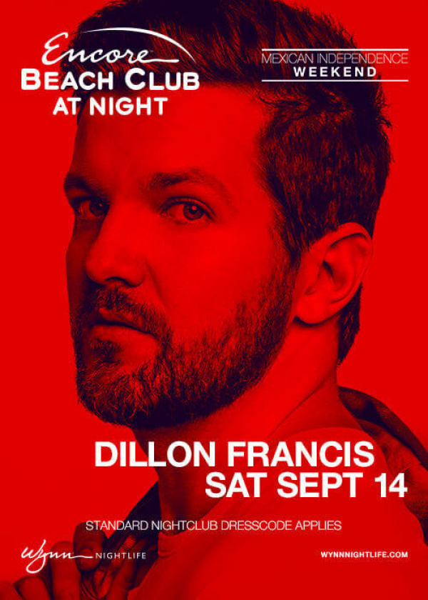 Dillon Francis - Encore Beach Club at Night