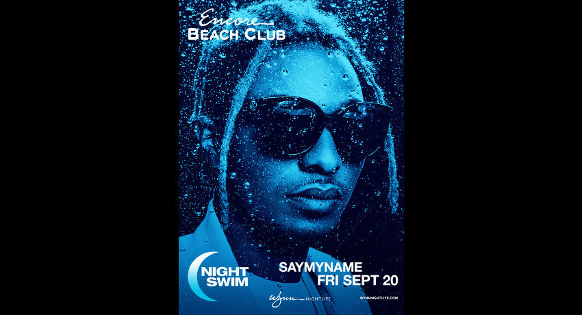 SAYMYNAME - Nightswim at EBC at Night
