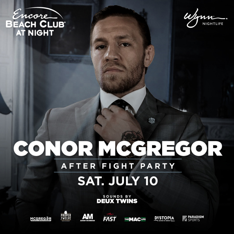Conor McGregor - After Fight Party at EBC Night thumbnail