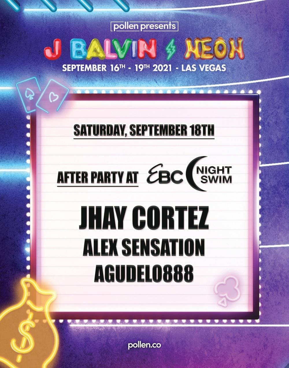 Jhay Cortez & Friends at EBC at Night Las Vegas thumbnail