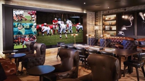 Pro Football - Montecristo Cigar Bar