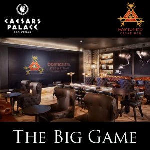 Montecristo Cigar Bar Presents: The Big Game, Sunday, February 3rd, 2019