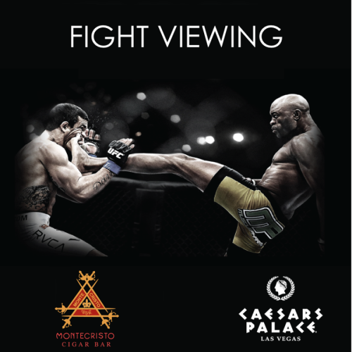 Montecristo Fight Viewing - Montecristo Cigar Bar