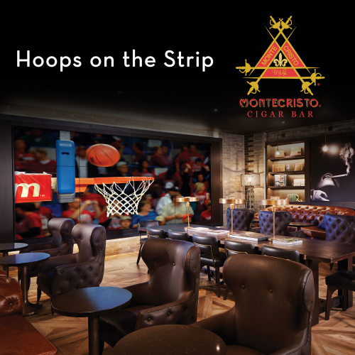 Hoops on the Strip - Montecristo Cigar Bar