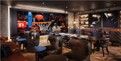 Hoops on the Strip at Montecristo Cigar Bar - Montecristo Cigar Bar