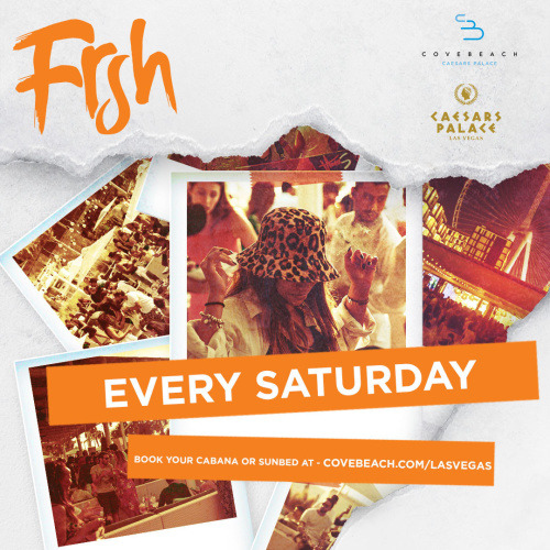 FRSH – Saturdays - Venus Pool +  Lounge