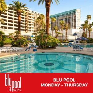 Flyer: Blu Pool Weekdays