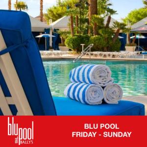 Flyer: Blu Pool Weekends