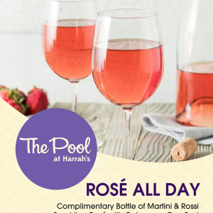 The Pool at Harrah's - Rosé All Day