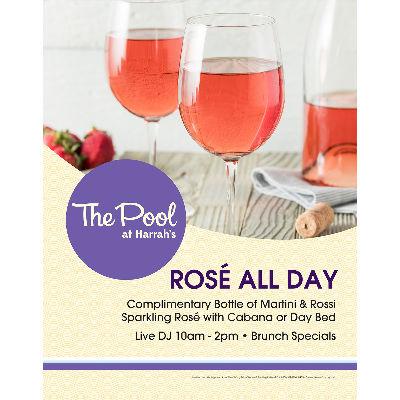 The Pool at Harrah's - Rosé All Day, Sunday, September 23rd, 2018