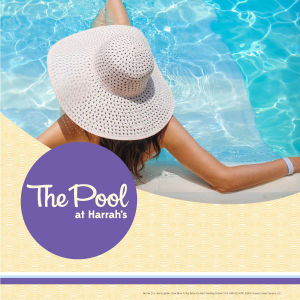 The Pool at Harrah's, Monday, June 28th, 2021