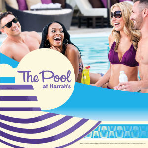 The Pool at Harrah's, Saturday, July 3rd, 2021
