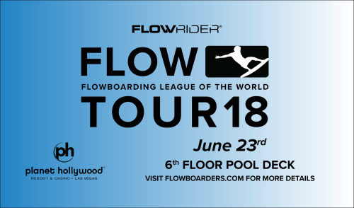 Flow Tour - The Pools at Planet Hollywood