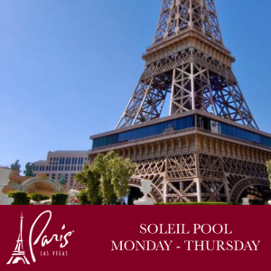Soleil Pool Weekdays, Thursday, October 4th, 2018