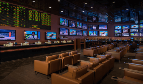 Hoops on the Strip at Harrah's Sports Book - Harrah's Race & Sports Book