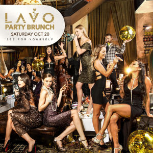 LAVO BRUNCH, Saturday, October 20th, 2018