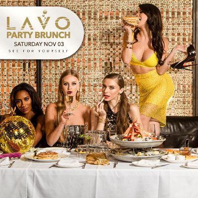 LAVO BRUNCH, Saturday, November 3rd, 2018