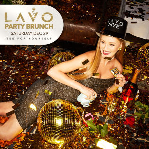 LAVO PARTY BRUNCH : NYE EDITION, Saturday, December 29th, 2018