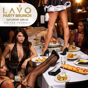 LAVO PARTY BRUNCH : LINGERIE EDITION, Saturday, January 26th, 2019
