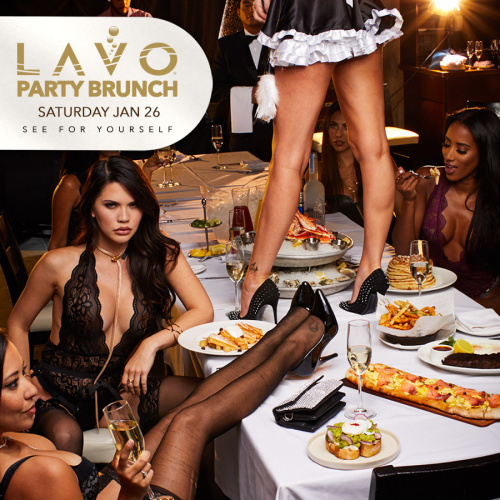 LAVO PARTY BRUNCH : LINGERIE EDITION - LAVO Brunch