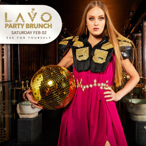 LAVO PARTY BRUNCH, Saturday, February 2nd, 2019