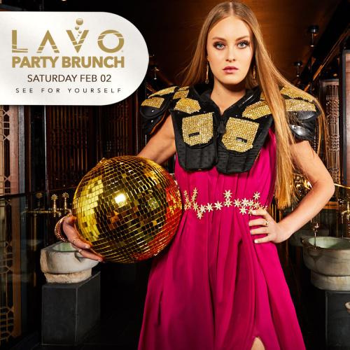 LAVO BRUNCH : SUPERBOWL EDITION - LAVO Brunch