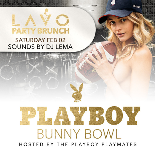 LAVO PARTY BRUNCH: PLAYBOY BUNNY BOWL - LAVO Brunch