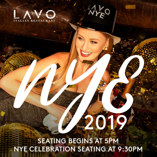 LAVO NEW YEAR'S EVE - LAVO Brunch