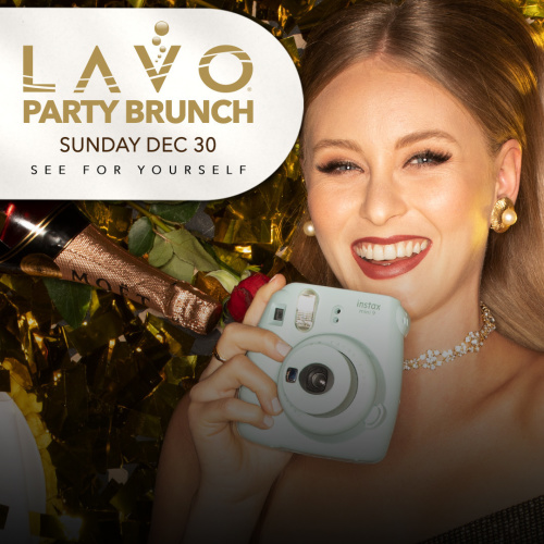 LAVO PARTY BRUNCH : NYE EDITION - LAVO Brunch