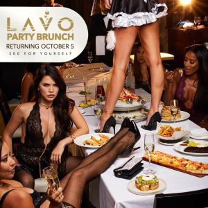 Lavo Party Brunch, Saturday, October 5th, 2019