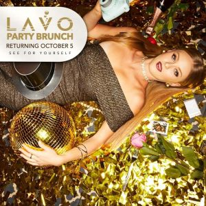 Lavo Party Brunch, Saturday, November 2nd, 2019