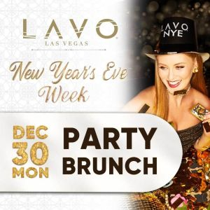 Lavo Party Brunch, Monday, December 30th, 2019