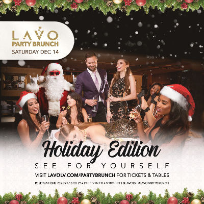 Lavo Party Brunch, Saturday, December 14th, 2019