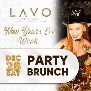 Lavo Party Brunch, Saturday, December 28th, 2019