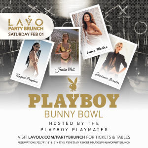 Playboy Bunny Bowl, Saturday, February 1st, 2020