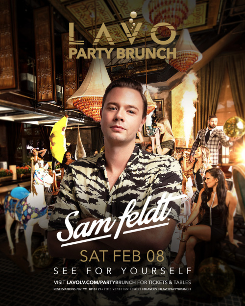 Sam Feldt - LAVO Brunch